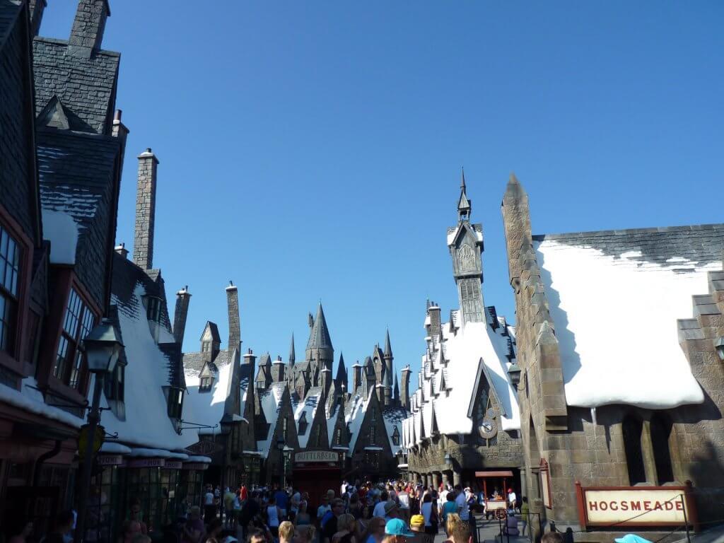 parque do Mundo do Harry Potter em Orlando