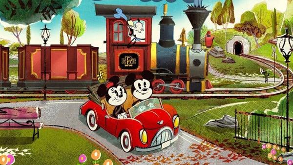 Mickey and Minnie's Runaway Railway na Disney Orlando