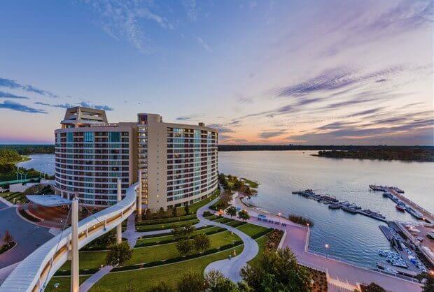 Hotel da Disney Bay Lake Tower no Contemporary Resort Orlando