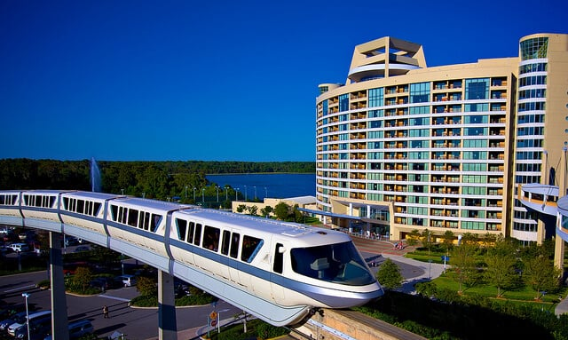 Hotel da Disney Bay Lake Tower no Contemporary Resort Orlando