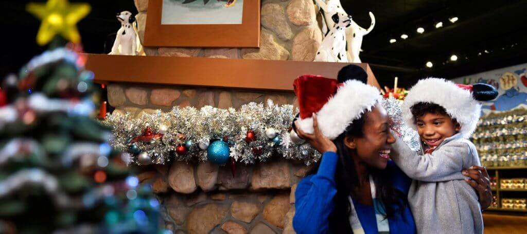 Loja de natal Disney's Days of Christmas na Disney Springs Orlando