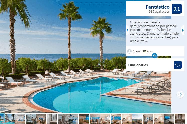Piscina do Hotel Grand Hyatt Tampa Bay
