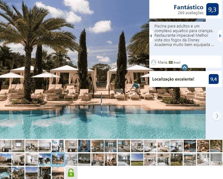 Four Seasons Resort Orlando at Walt Disney World Resort: piscina
