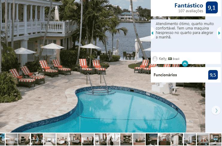 The Pillars Hotel em Fort Lauderdale: piscina