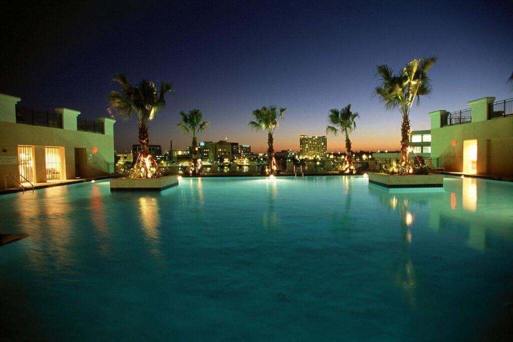 Tampa Marriott Waterside Hotel and Marina: piscina