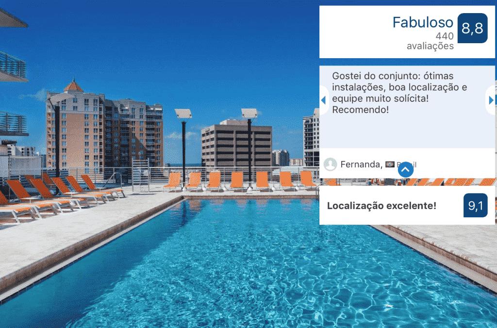 Hotel Aloft Sarasota: piscina