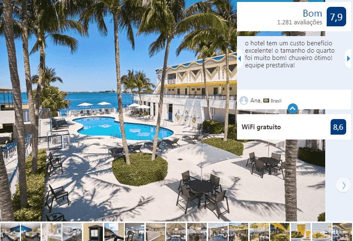 Best Western On The Bay Inn & Marina em Miami Beach: piscina