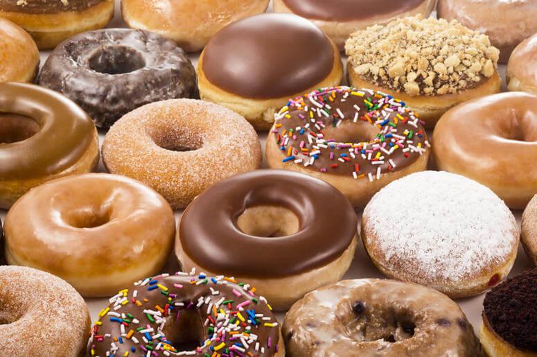Donuts Krispy Kreme em Orlando