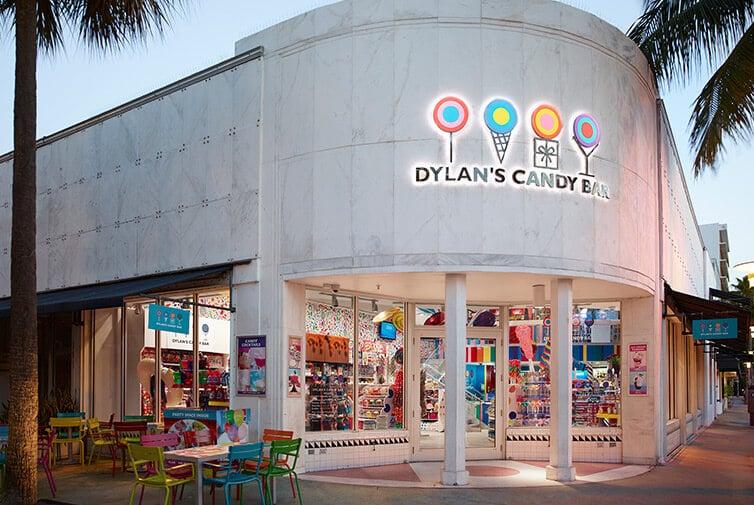 Onde comprar chocolates e doces em Orlando: Dylan's Candy Bar em Orlando