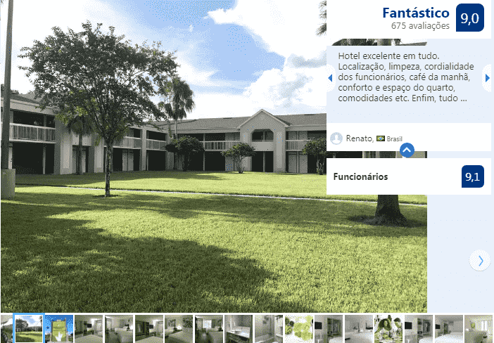 GreenPoint Hotel Kissimmee: frente