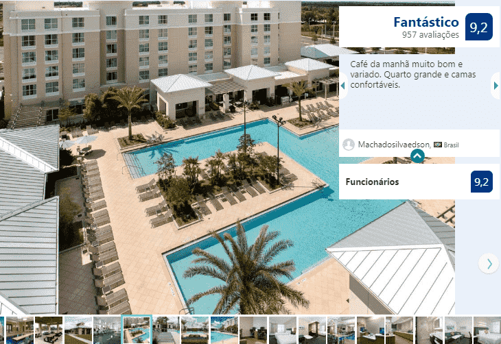 Hotel SpringHill Suites by Marriott Orlando em Kissimmee: piscina