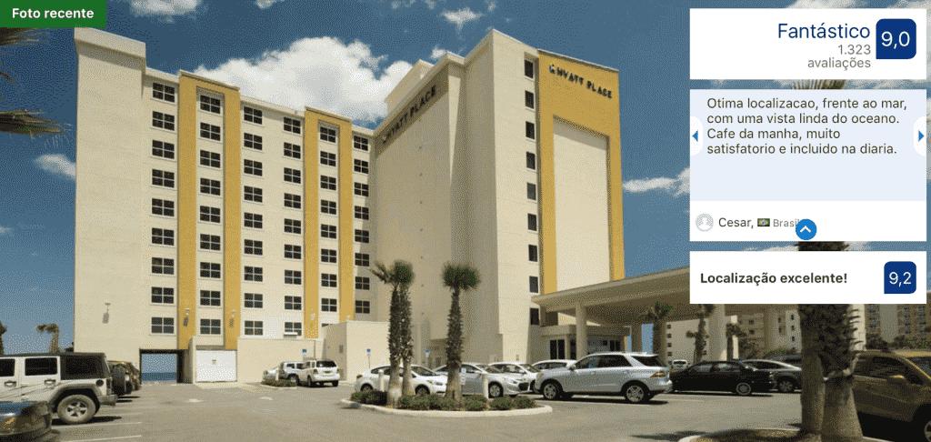 Hyatt Place Daytona Beach-Oceanfront: frente