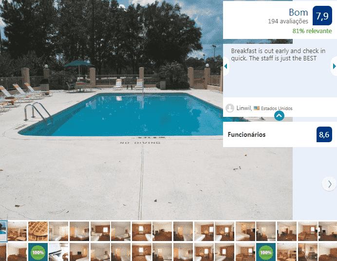 Hotel La Quinta Inn Jacksonville: piscina