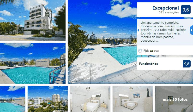 Moderno Residences By Bay Breeze em Miami Beach: piscina