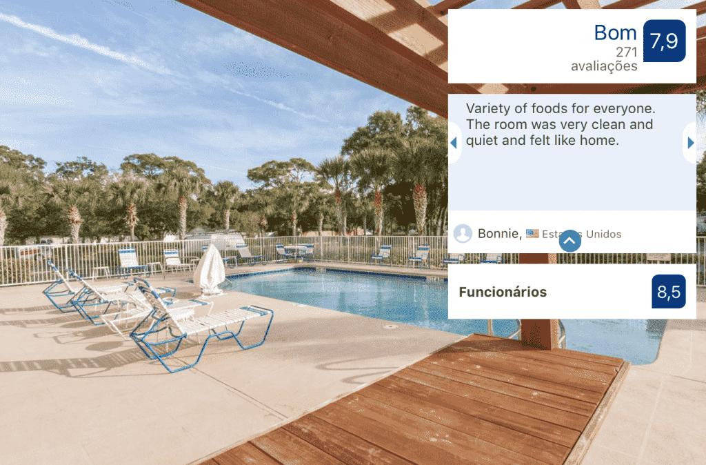 Hotel Comfort Inn North Saint Petersburg: piscina