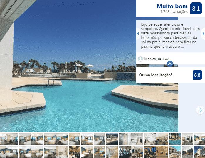 Hilton Daytona Beach Resort: piscina