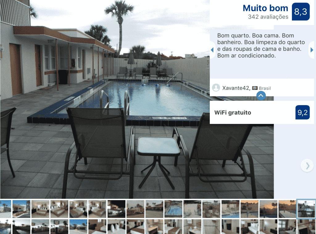 Hotel Island Shores Inn em Saint Augustine: piscina