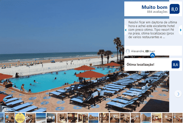 Plaza Resort & Spa - Daytona Beach: piscina