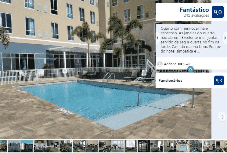 Staybridge Suites St. Petersburg FL: piscina