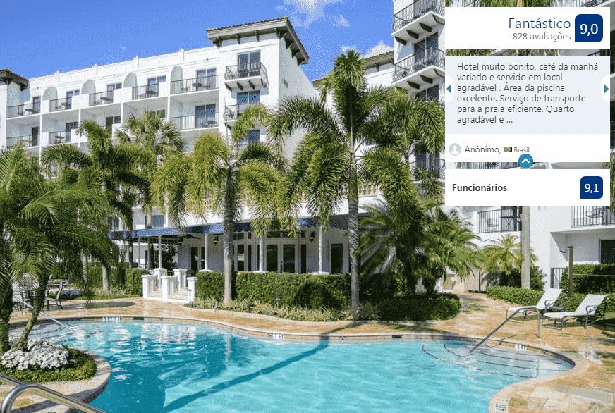 Hotel Inn at Pelican Bay em Naples: piscina