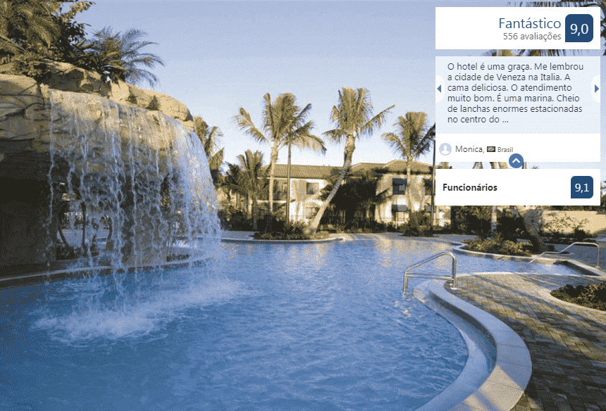 Naples Bay Resort and Marina: piscina