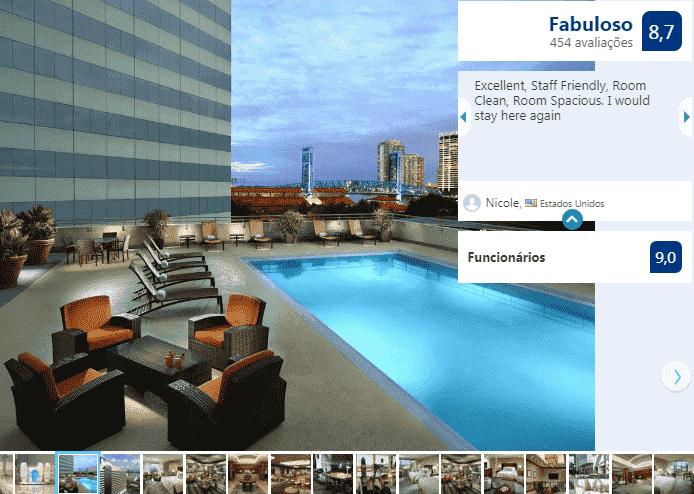 Hotel Omni Jacksonville: piscina