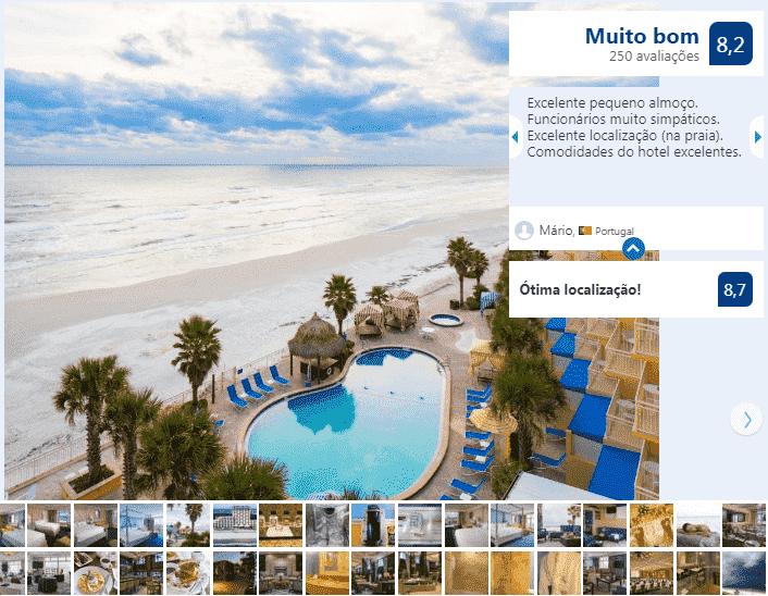 The Shores Resort & Spa em Daytona Beach: piscina