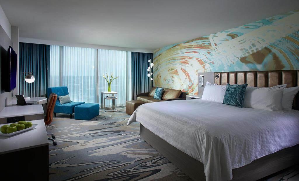 Hard Rock Hotel Daytona Beach: quarto