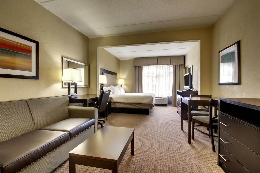 Dicas de hotéis em Jacksonville: Holiday Inn Express & Suites Jacksonville South East - Medical Center Area: quarto