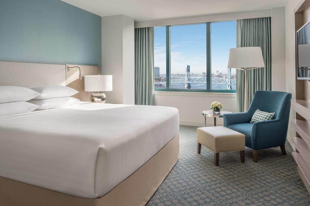 Hotel Hyatt Regency Jacksonville Riverfront em Jacksonville: quarto
