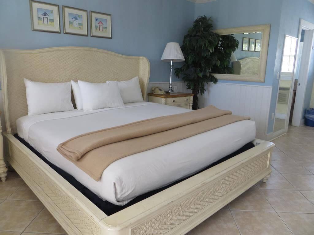 Dicas de hotéis em Naples na Flórida: Hotel Lemon Tree Inn em Naples na Flórida: quarto