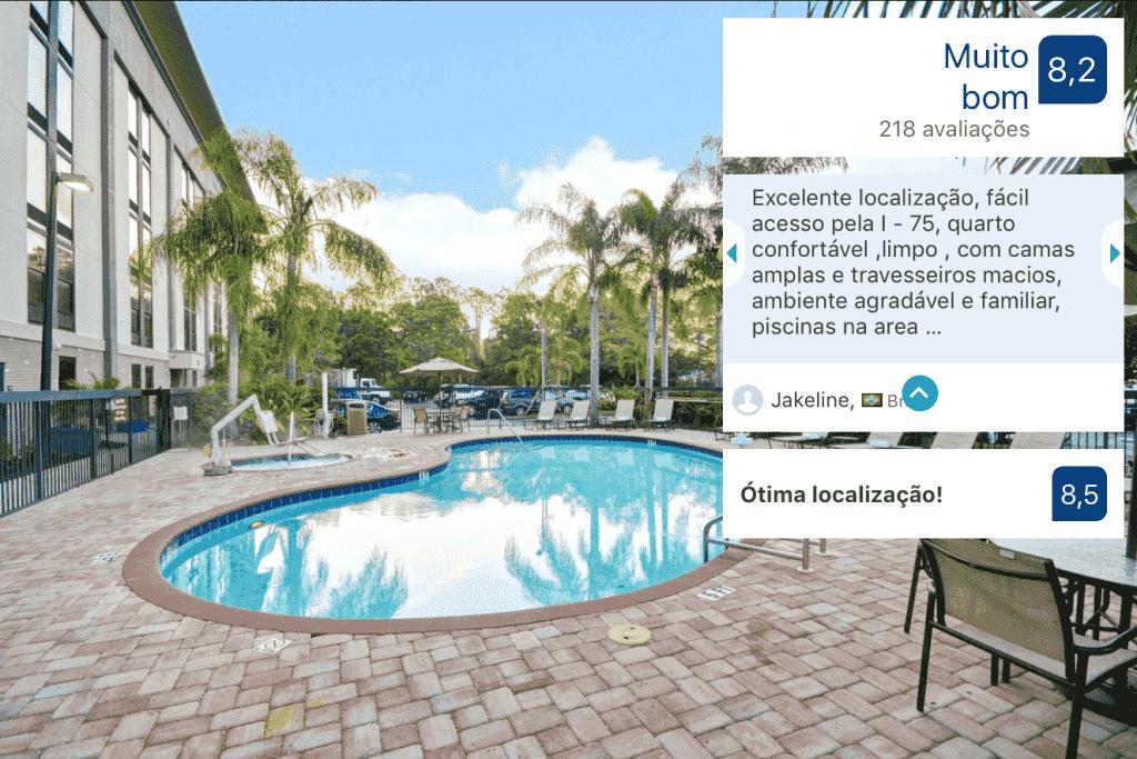 Hotel Hampton Inn Sarasota I-75 Bee Ridge: piscina