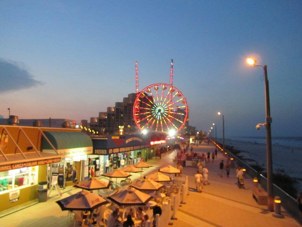 O que fazer a noite em Daytona Beach