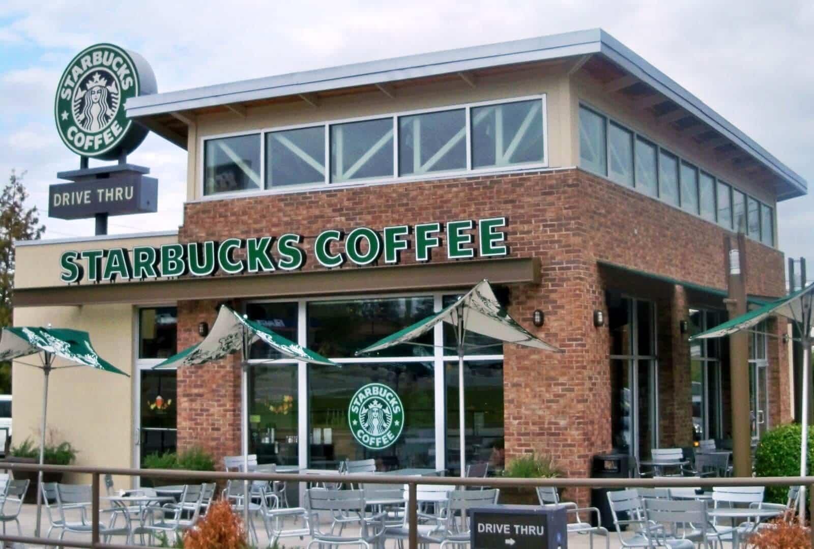 Starbucks Café em Orlando