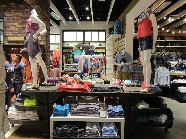 Onde comprar roupas Aéropostale em Orlando: loja