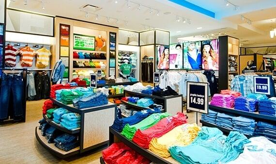 Onde comprar roupas Aéropostale em Orlando: informações
