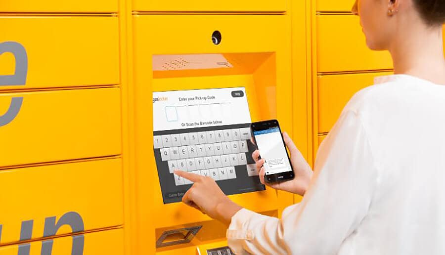 Amazon Locker: como receber as suas compras online em Orlando