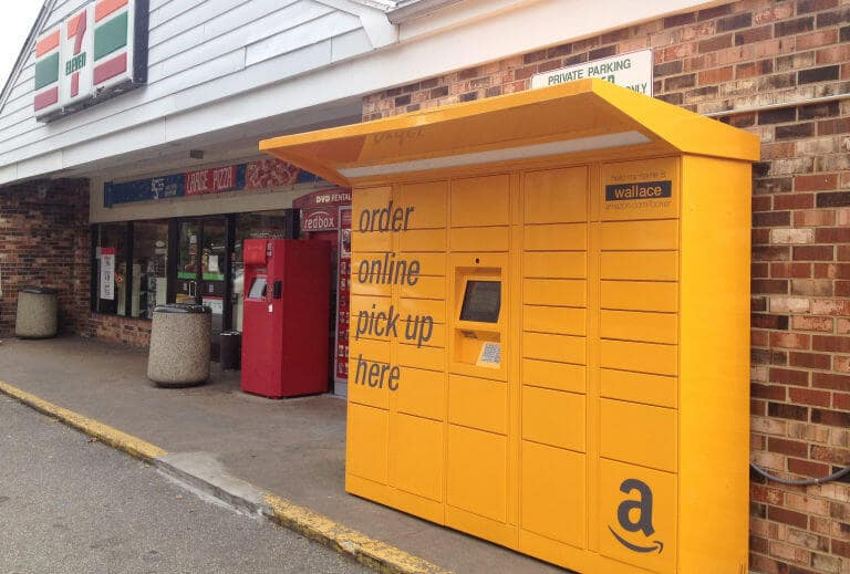 Amazon Locker em Orlando