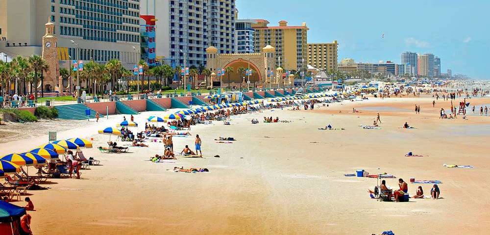 Daytona Beach na Flórida: Praia e diversão