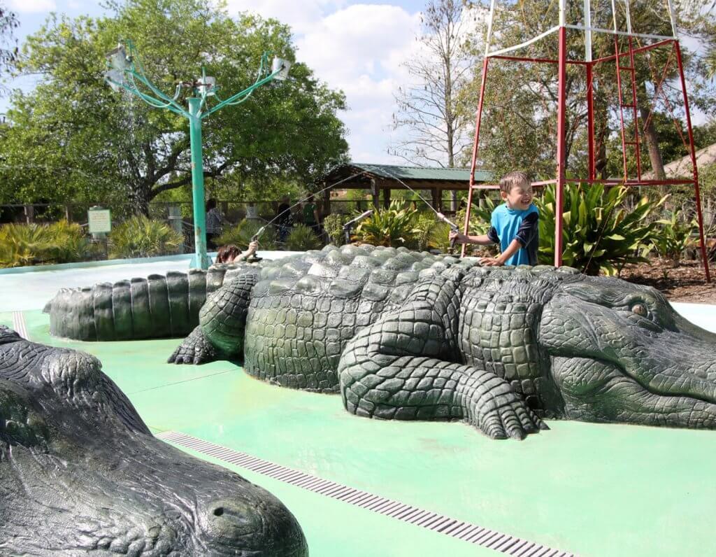 Pontos turísticos em Kissimmee: Gatorland em Kissimmee