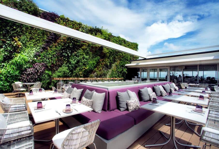 Melhores bares com rooftops em Miami: Juvia em Miami