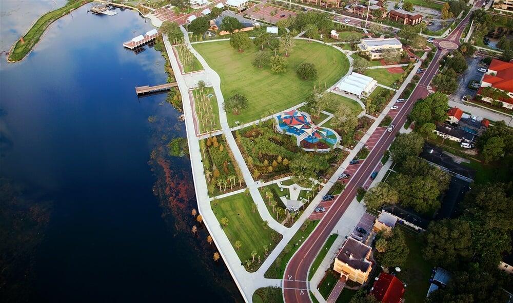 Pontos turísticos em Kissimmee: Kissimmee Lakefront Park