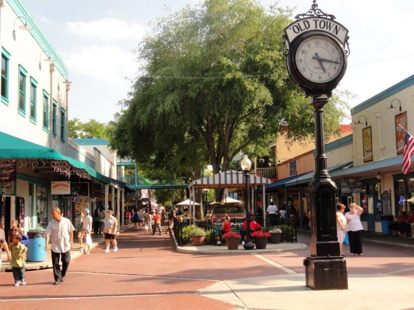 Lojas de Old Town em Kissimmee