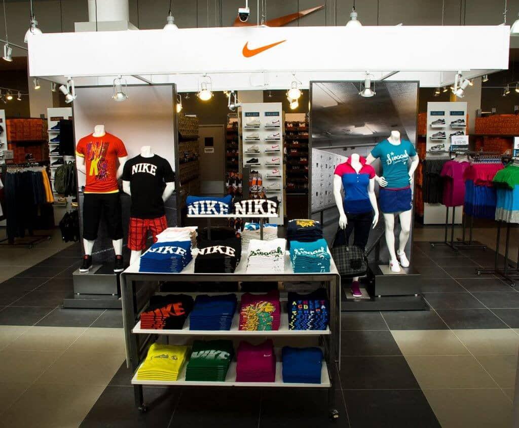 Onde ficam as lojas da Nike em Orlando e Miami