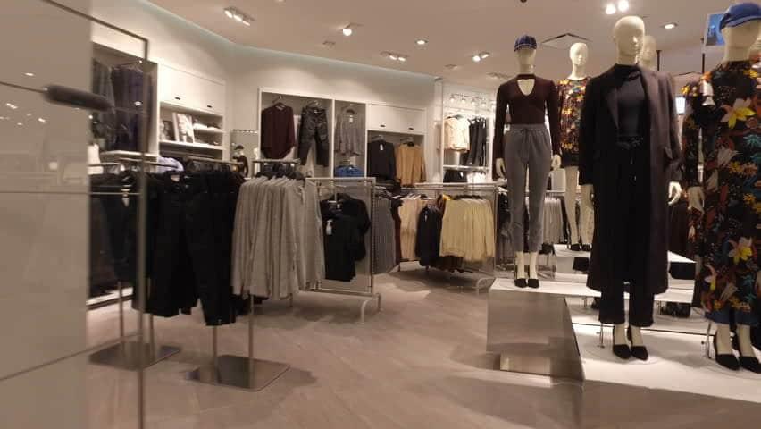 Loja Nordstrom em Miami: roupas
