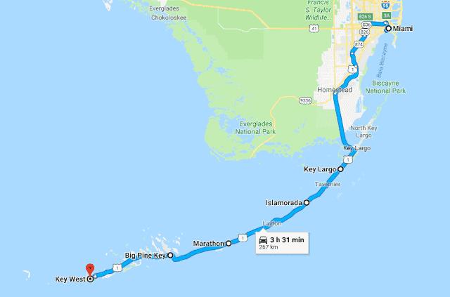 Roteiro de praias pelo sul da Flórida