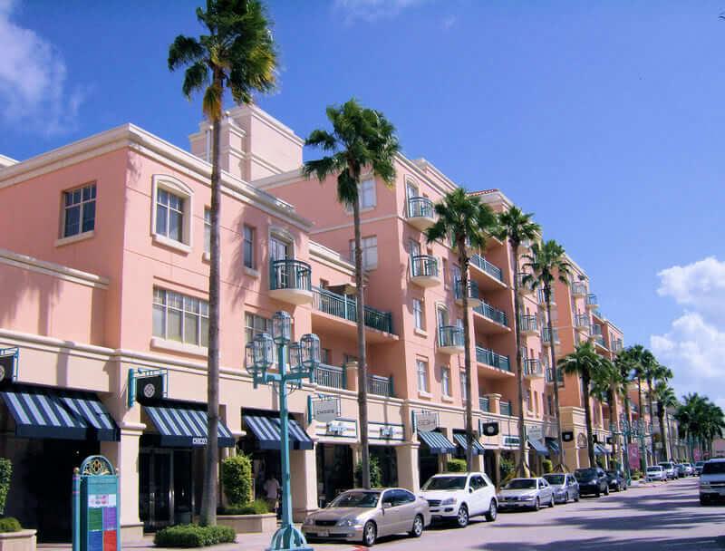 Shopping Mizner Park em Boca Raton