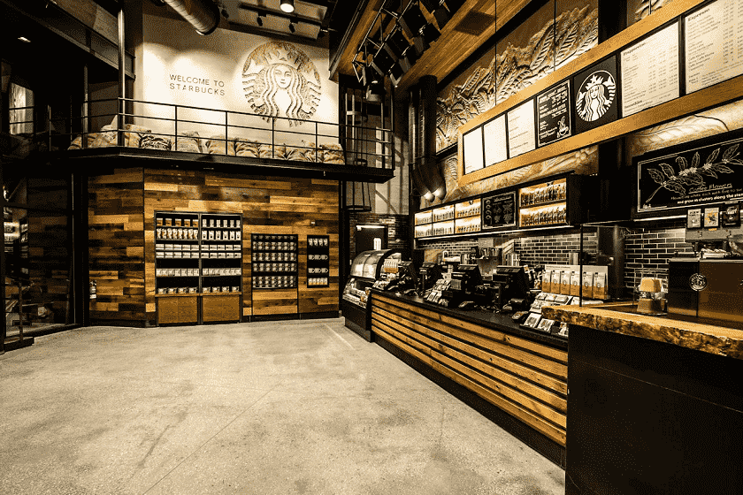 Endereços do Starbucks em Miami e Orlando
