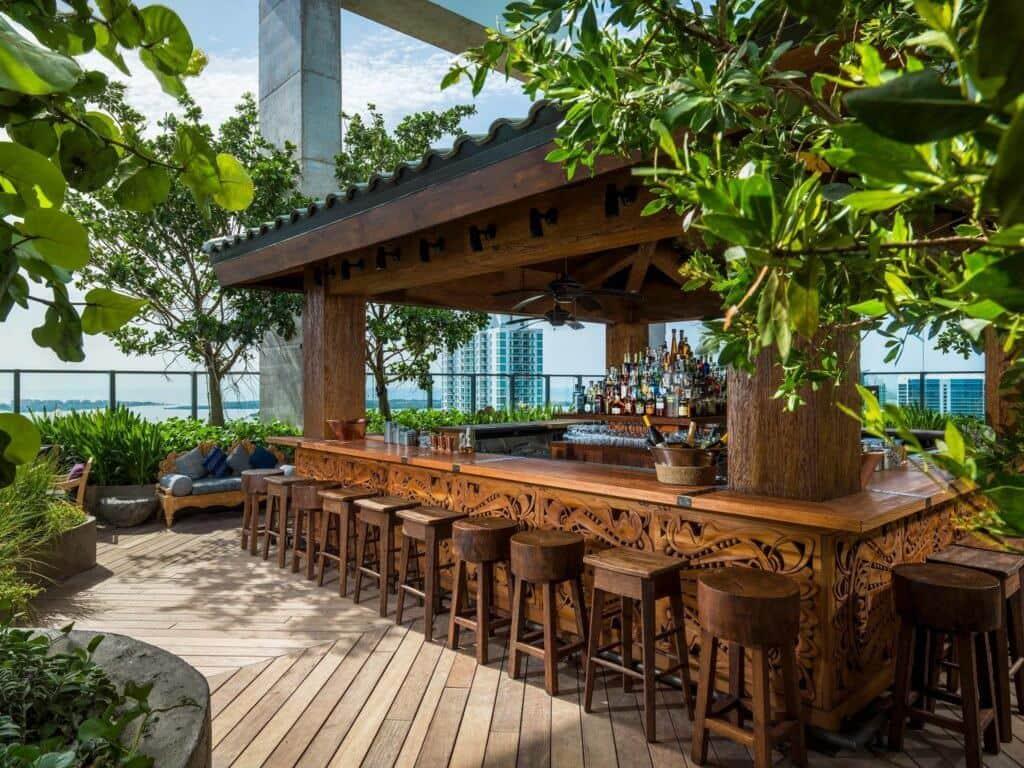 Melhores bares com rooftops em Miami: Sugar em Miami
