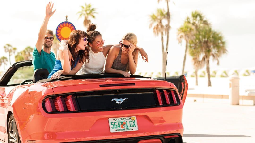 Roteiros pelas praias e costas da Flórida